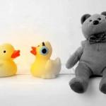 Quietscheentchen, Teddys und Schirmchen